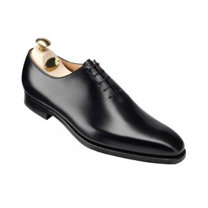 CROCKTT & JONES ALEX BLACK CALF
