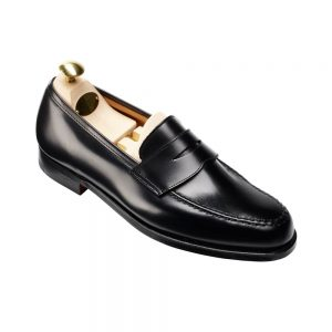CROCKTT & JONES BOSTON BLACK CALF
