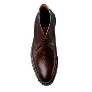 CROCKTT & JONES BRECON DARK BROWN GRAIN