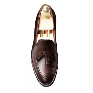 CROCKTT & JONES CAVENDISH DARK BROWN CALF