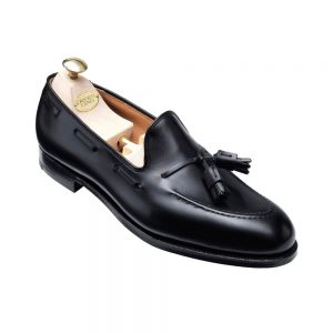 CROCKTT & JONES CAVENDISH BLACK CALF