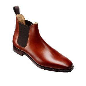 CROCKTT & JONES CHELSEA 3 CHESTNUT CALF