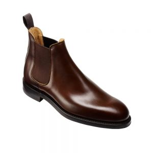 CROCKTT & JONES CHELSEA 5 DARK BROWN WAX