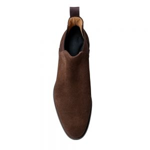 CROCKTT & JONES CHELSEA 8 DARK BROWN SUEDE