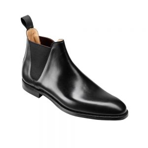 CROCKTT & JONES CHELSEA 8 BLACK CALF