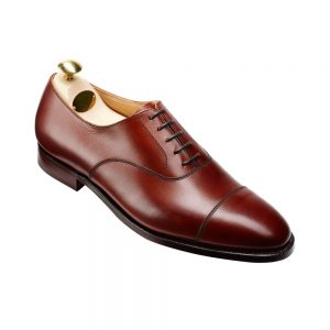 CROCKTT & JONES CONNAUGHT CHESTNUT CALF