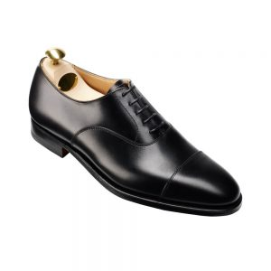 CROCKTT & JONES CONNAUGHT BLACK CALF