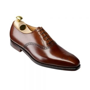 CROCKTT & JONES EDGWARE DARK BROWN CALF