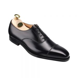 CROCKTT & JONES HALLAM BLACK CITY SOLE