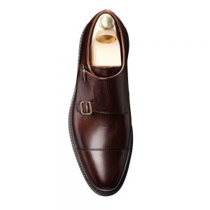 CROCKTT & JONES HARROGATE DARK BROWN COUNTRY CALF