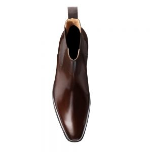 CROCKTT & JONES LINGFIELD DARK BROWN CALF