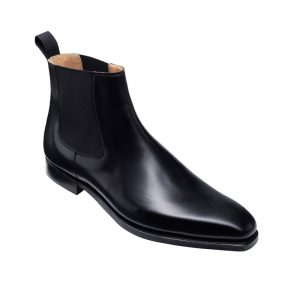 CROCKTT & JONES LINGFIELD BLACK CALF