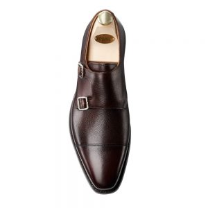 CROCKTT & JONES LOWNDES DARK BROWN GRAIN CITY SOLE