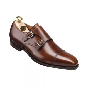 CROCKTT & JONES LOWNDES DARK BROWN CALF