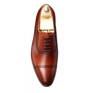 CROCKTT & JONES MALTON CHESTNUT CALF