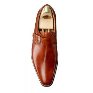 CROCKTT & JONES MONKTON CHESTNUT CALF