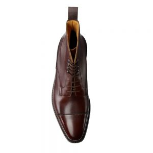CROCKTT & JONES NORTHCOTE DARK BROWN CALF