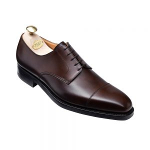 CROCKTT & JONES NORWICH DARK BROWN CALF