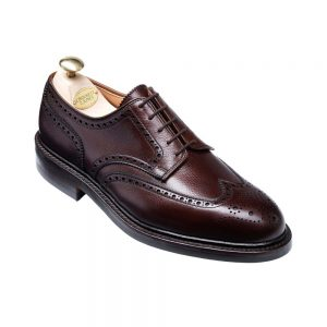 CROCKTT & JONES PEMBROKE DARK BROWN GRAIN