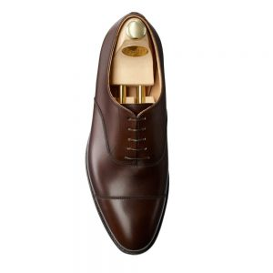 CROCKTT & JONES RADSTOCK DARK BROWN CALF