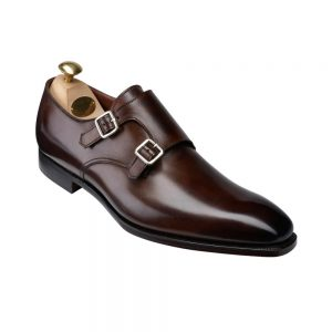 CROCKTT & JONES SEYMOUR 3 DARK BROWN ANTIQUE
