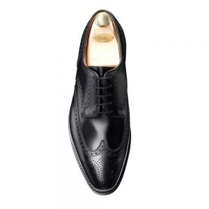CROCKTT & JONES SWANSEA BLACK CALF