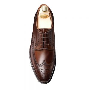CROCKTT & JONES SWANSEA DARK BROWN CALF