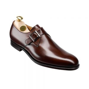 CROCKTT & JONES SWINDON DARK BROWN CALF