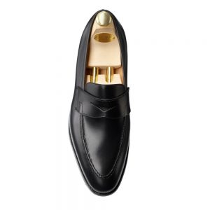 CROCKTT & JONES SYDNEY BLACK CALF CITY SOLE