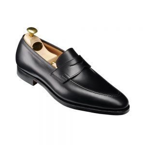 CROCKTT & JONES SYDNEY BLACK CALF