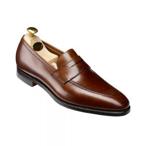 CROCKTT & JONES SYDNEY DARK BROWN CALF