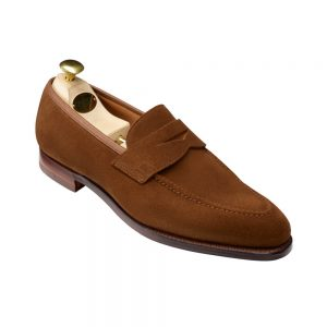 CROCKTT & JONES SYDNEY SNUFF SUEDE