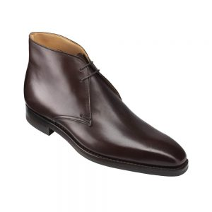CROCKTT & JONES TETBURY DARK BROWN CALF