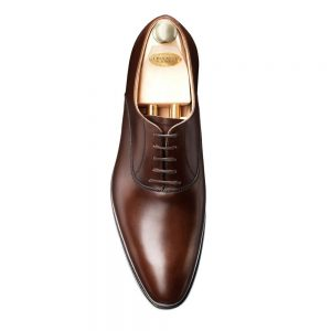 CROCKTT & JONES WEMBLEY DARK BROWN CALF