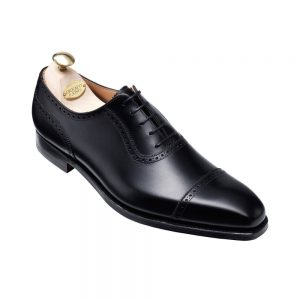 CROCKTT & JONES WESTBOURNE BLACK CALF