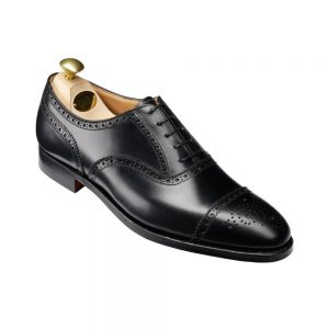 CROCKTT & JONES WESTFILD BLACK CALF