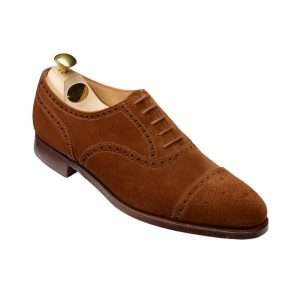 CROCKTT & JONES WESTFILD TOBACCO SUEDE