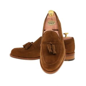 LARSSONSSKOR 30180 MEDIUM BROWN SUEDE