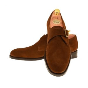 LARSSONSSKOR 30189 MEDIUM BROWN SUEDE