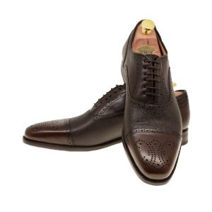 LARSSONSSKOR 30035 DARKBROWN CALF,GRAIN