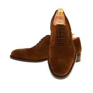 LARSSONSSKOR 31134-2 HONEY BROWN SUEDE