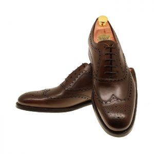 LARSSONSSKOR 31187 DARK BROWN CALF
