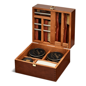 SAPHIR SHOEMAKERS SHOE POLISH BOX