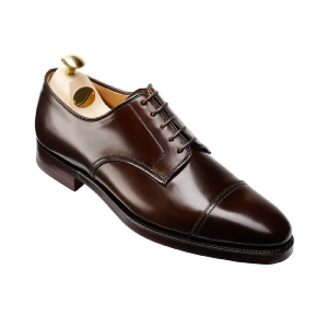 CROCKTT & JONES BRADFORD DARK BROWN CORDOVAN