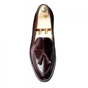 CROCKTT & JONES CAVENDISH BURGUNDY CORDOVAN