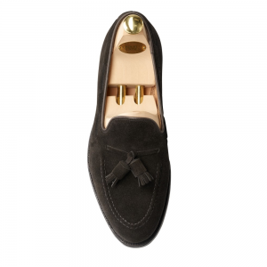 CROCKTT & JONES CAVENDISH BLACK SUEDE