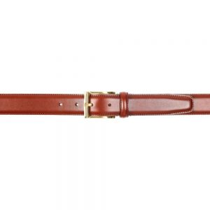 CROCKETT & JONES BELT CHESTNUT CALF