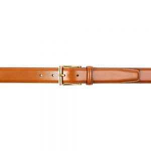 CROCKETT & JONES BELT TAN CALF