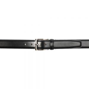 CROCKETT & JONES BELT BLACK CALF