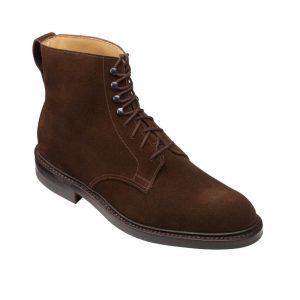 CROCKTT & JONES ESKDALE 2 DARK BROWN SUEDE